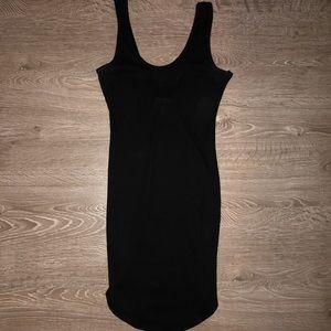 Black rimmed dress
